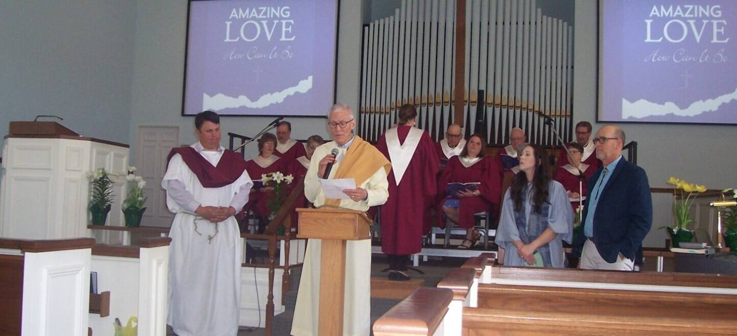 Special service at the Paoli United Methodist Church