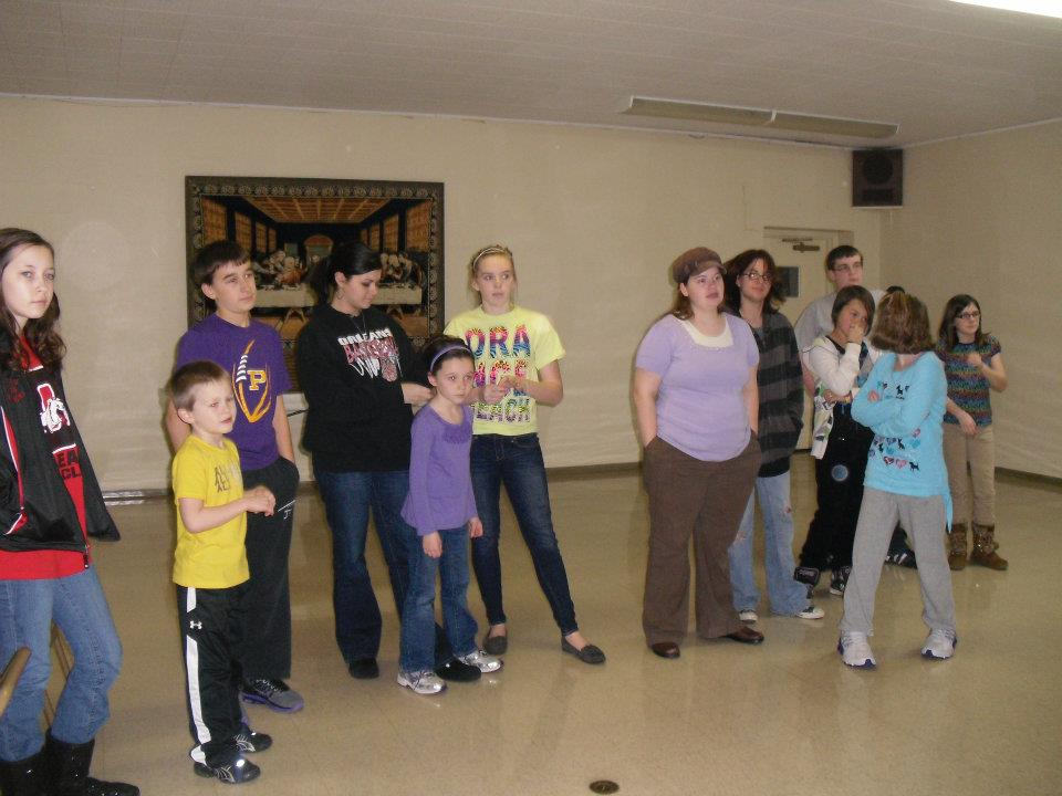 Paoli United Methodist Church youth group